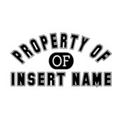 Property of... Insert Name
