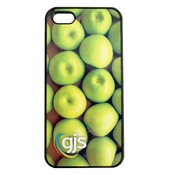 iPhone 4/4S Phone Case - Rubber Bumper w/ Printable Metal