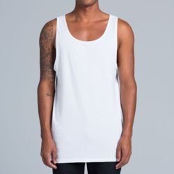 AS Colour - Mens Typo Singlet Thumbnail