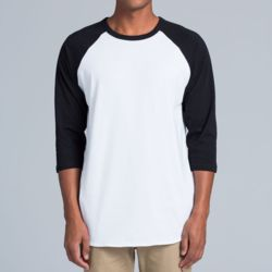 AS Colour - Raglan Tee Thumbnail