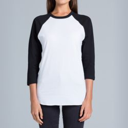 AS Colour - Raglan Tee Unisex Thumbnail
