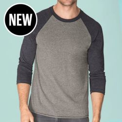 Next Level - Tri-Blend Baseball Raglan Tee Thumbnail