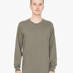 American Apparel Unisex Fine Jersey Long-Sleeve T-Shirt Thumbnail