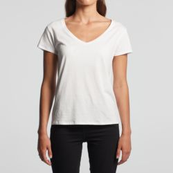 AS Colour - La Brea V-Neck Tee Thumbnail