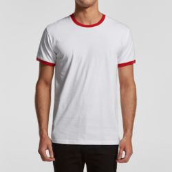 AS Colour Men's Ringer Tee Thumbnail